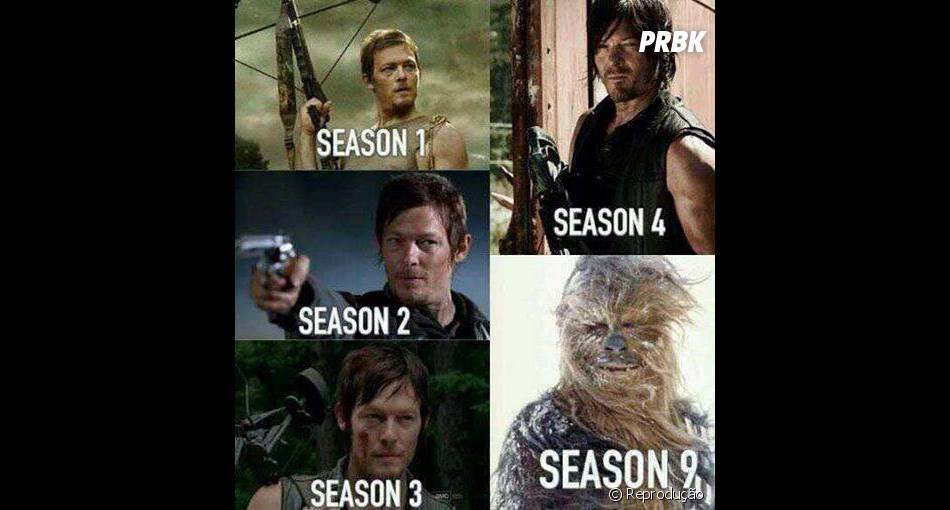 "A evolução de Daryl (Norman Reedus) segundo os fãs de ""The Walking Dead""!"