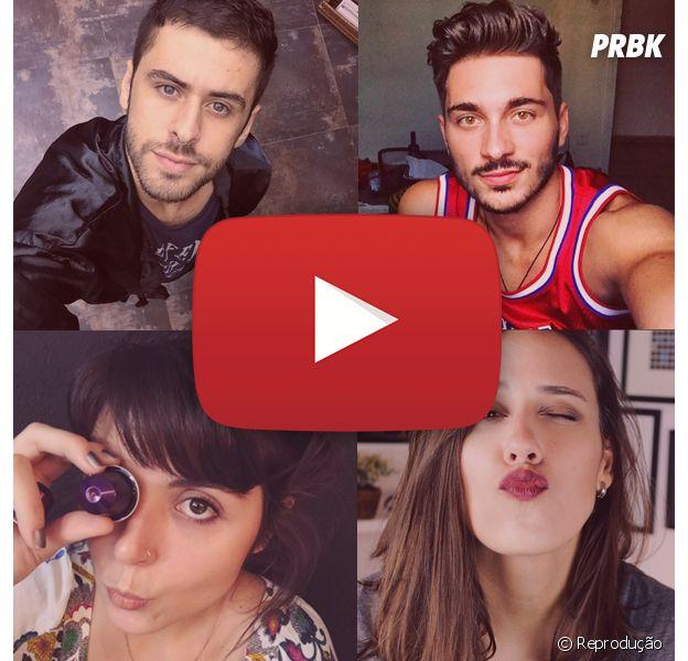 10 youtubers que você precisa conhecer!