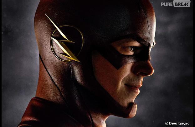 Grant Gustin aparece caracterizado como Flash pela primeira vez!