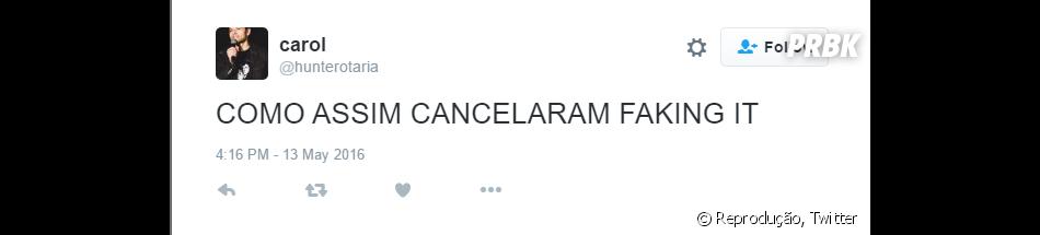 """De """"Faking It"""", série foi cancelada na 3ª tmeporada e fãs reclamam nas redes sociais"""