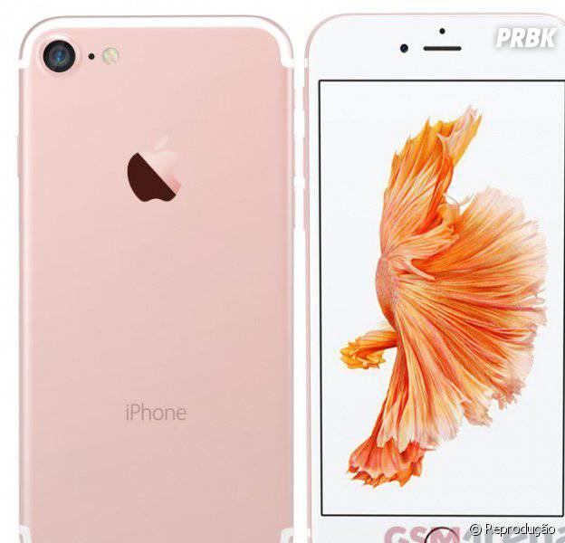 iPhone 7, da Apple, não deve ter o visual muito diferente do iPhone 6!