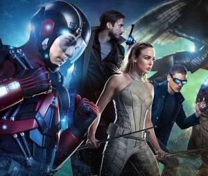 """Em """"Legends of Tomorrow"""": 2ª temporada terá participação da Sociedade da Justiça da América e pode contar com presença de Barry (Grant Gustin), de """"The Flash""""!"""