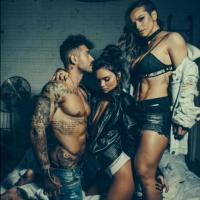 """Lucas Lucco, de """"Malhação"""", faz ensaio sensual ao lado de duas modelos e deixa os fãs malucos!"""
