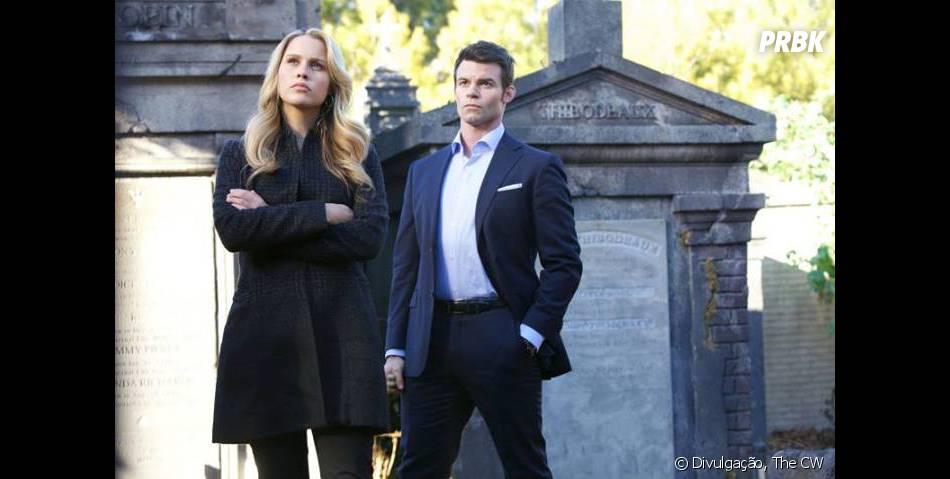 """Em """"The Originals"""",Rebekah (Claire Holt) foi defendida por Elijah (Daniel Gillies)"""