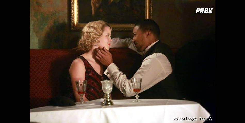 "Em""The Originals"",Rebekah (Claire Holt) viveu um romance com Marcel (Charles Michael Davis)"