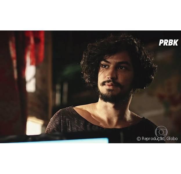 """Em """"Velho Chico"""", Miguel (Gabriel Leone) conhece Santo (Domingos Montagner), seu pai biológico"""