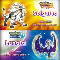 "De ""Pokémon Sun e Moon"": novo trailer revela tipos de Solgaleo, Lunala e detalhes de Alola!"