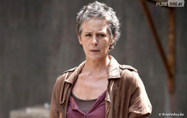 """Carol (Melissa McBride) de""""The Walking Dead"""" fará algo chocante na série"""