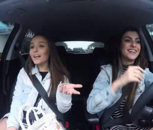 Larissa Manoela participa do canal de Nah Cardoso e relembra primeiro beijo!