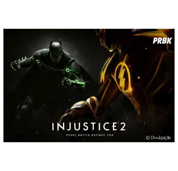 """Game """"Injustice 2"""": Batman e Superman voltam a se enfrentar no primeiro trailer do jogo!"""