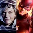 Flash (Evan Peters) e Flash (Grant Gustin), com certeza, sairiam correndo por aí