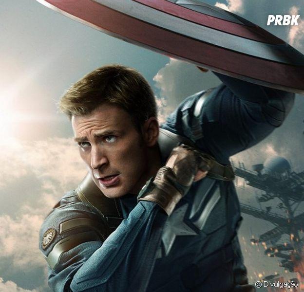 """Chris Evans quer interpretar o Capitão América em """"Homem-Aranha"""""""