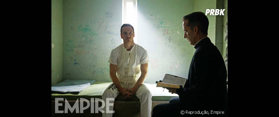 "Michael Fassbender interpreta Callum Lynch no filme ""Assassin's Creed"""