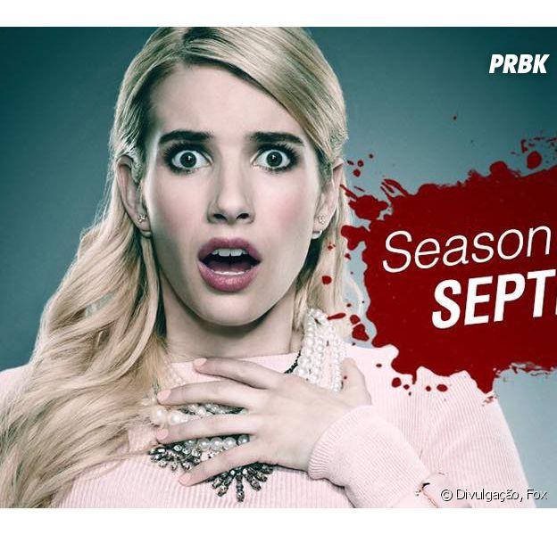 """Série """"Scream Queens"""" estreia sua 2ª temporada no dia 20 de setembro!"""