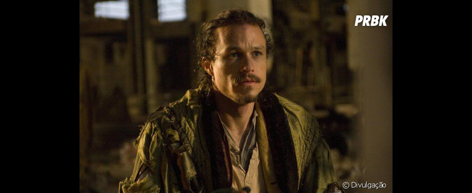 """O roteiro de """"O Mundo Imaginário do Dr. Parnassus"""" foi reescrito após a morte de Heath Ledger, em janeiro de 2008"""