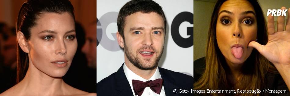Segundo revista norte-americana, Thaila Ayala seria o pivô da separação de Justin Timberlake e Jessica Biel