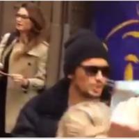 Thaila Ayala é vista com James Franco, em Nova York! Clima de affair no ar