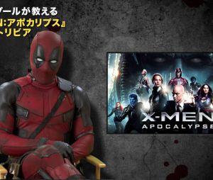 """Deadpool (Ryan Reynalds) aparece como comentarista do trailer de """"X-Men: Apocalipse"""""""