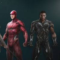 """De """"Liga da Justiça"""": Flash e Ciborgue têm possíveis uniformes revelados!"""