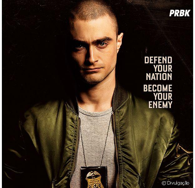 """Daniel Radcliffe aparece em pôster de """"Imperium"""""""
