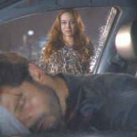 """Novela """"Cúmplices de um Resgate"""": Otávio (Duda Nagle) fica em coma após acidente causado por Regina!"""