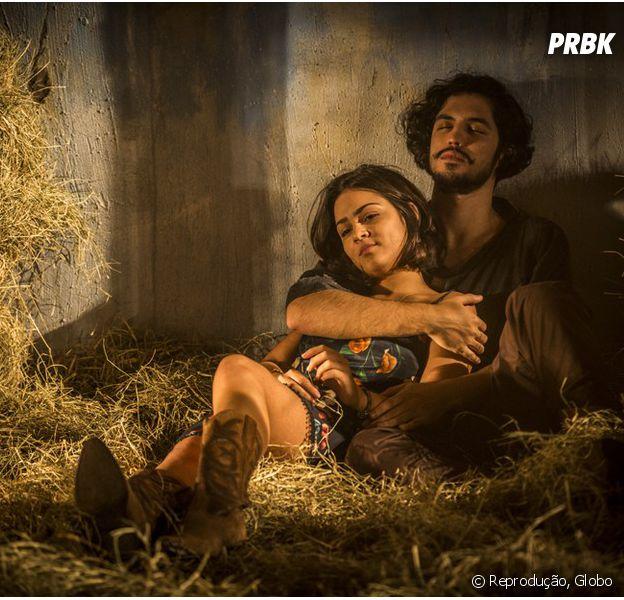 """Em """"Velho Chico"""", Miguel (Gabriel Leone) e Olívia (Giullia Buscacio) podem não ser irmãos!"""