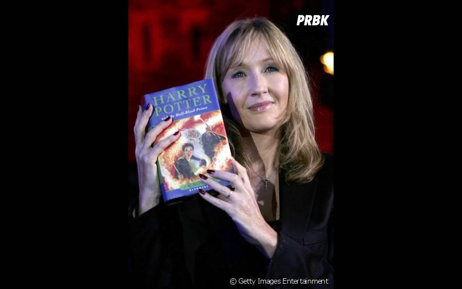 J. K. Rowling ganhou o mundo com seu bruxinho Harry Potter