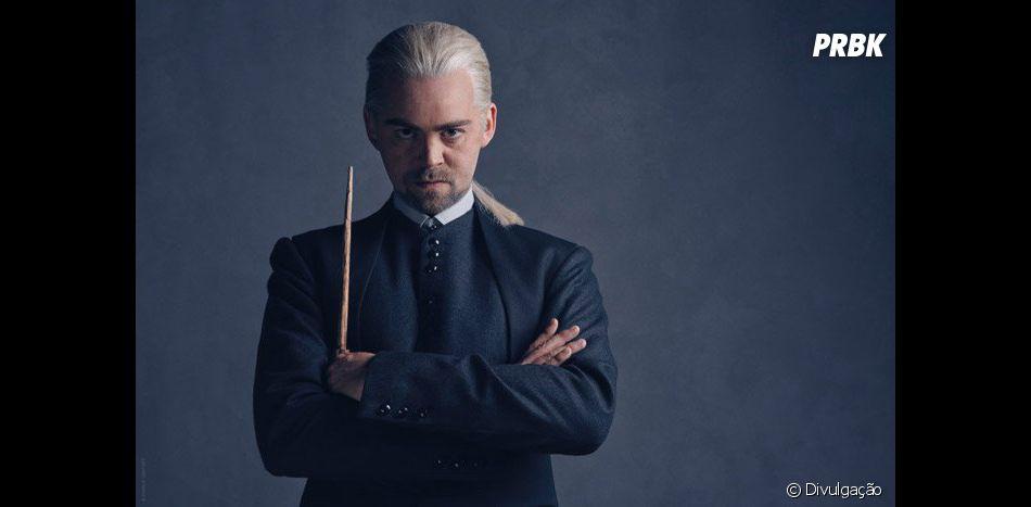"""Alex Price aparece no espetáculo """"Harry Potter e a Criança Amaldiçoada""""como Draco Malfoy"""