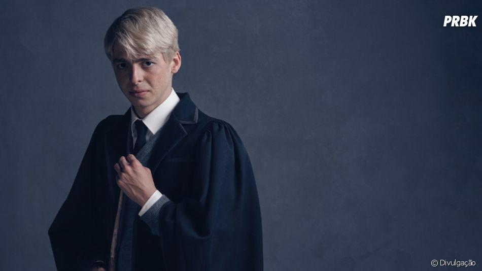 """Em """"Harry Potter e a Criança Amaldiçoada"""", opersonagem Scorpius (Anthony Boyle) é filho de Draco"""