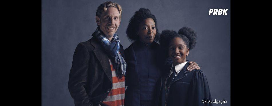"""Paul Thornley e Noma Dumezweni são Hermione e Ron em """"Harry Potter e a Criança Amaldiçoada"""""""