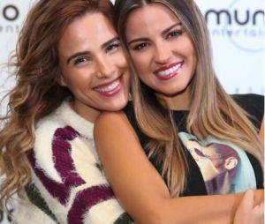 Maite Perroni e Wanessa Camargo se posaram juntas antes do show de São Paulo