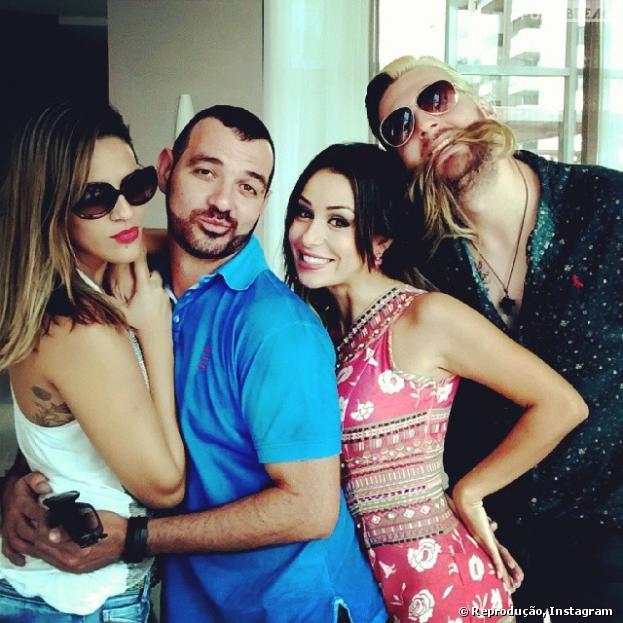 """Antes da final do """"Big Brother Brasil 14"""", ex-participantes do reality se encontram"""