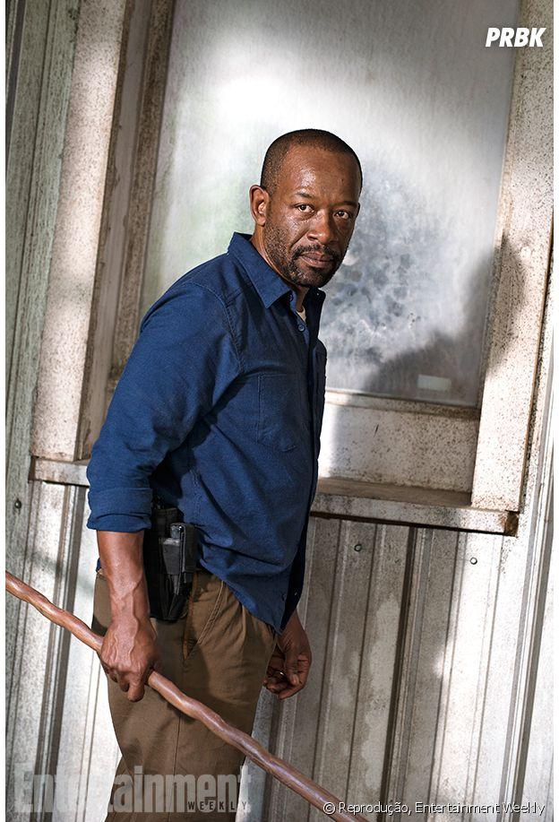 """De """"The Walking Dead"""", confira imagem de Morgan segurando seu bastão!"""