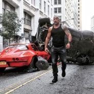 """De """"Velozes & Furiosos 8"""": Luke Hobbs (Dwayne Johnson) aparece em nova foto divulgada!"""
