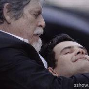 """Últimos capítulos de """"Joia Rara"""": Manfred morre nos braços de Ernest!"""