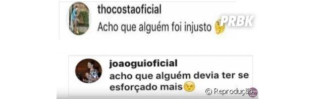 Olha a treta entre João Guilherme Ávila, atual de Larissa Manoela, e Thomaz Costa, ex da garota!