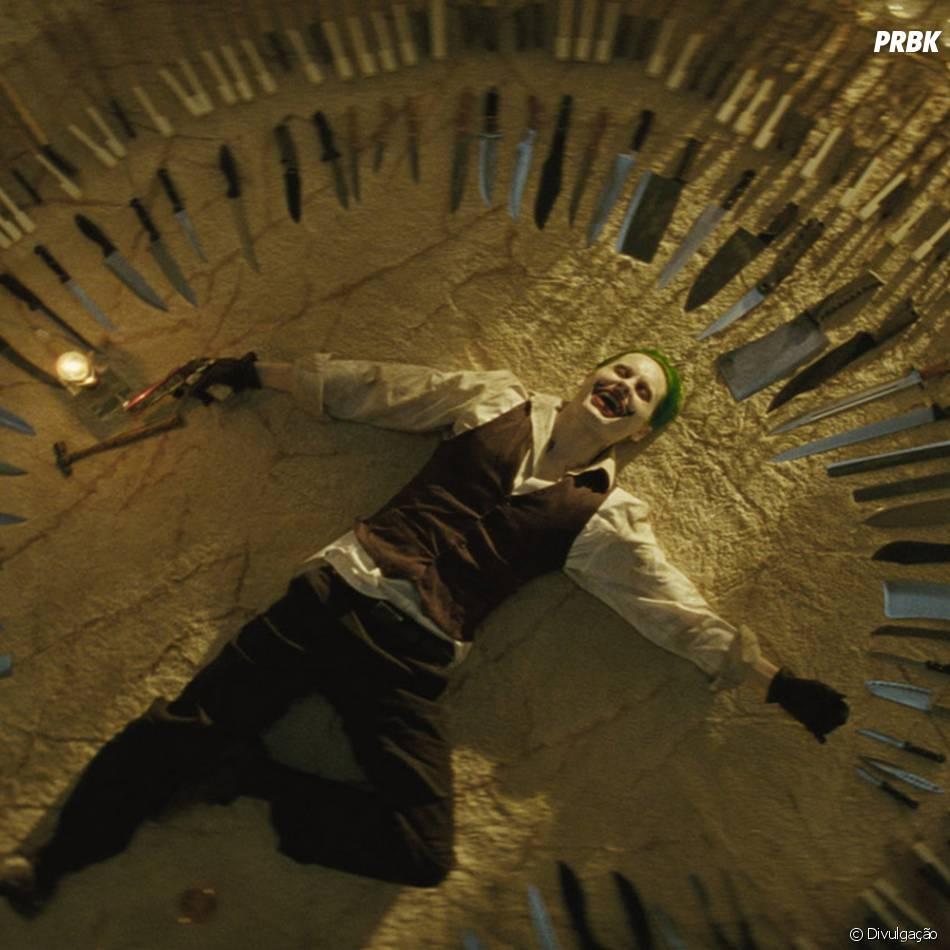 """Jared Leto promete arrasar como o Coringa, em """"Esquadrão Suicida"""""""