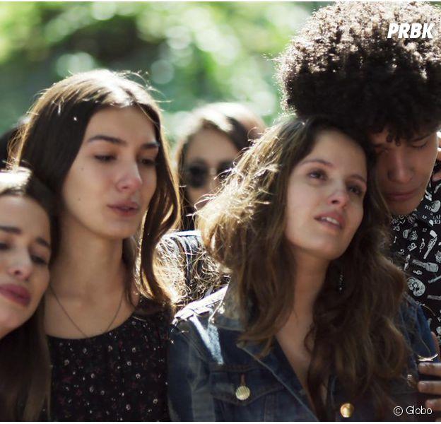 """Em """"Malhação"""", Filipe (Francisco Vitti) é enterrado e recebe homenagem da banda!"""