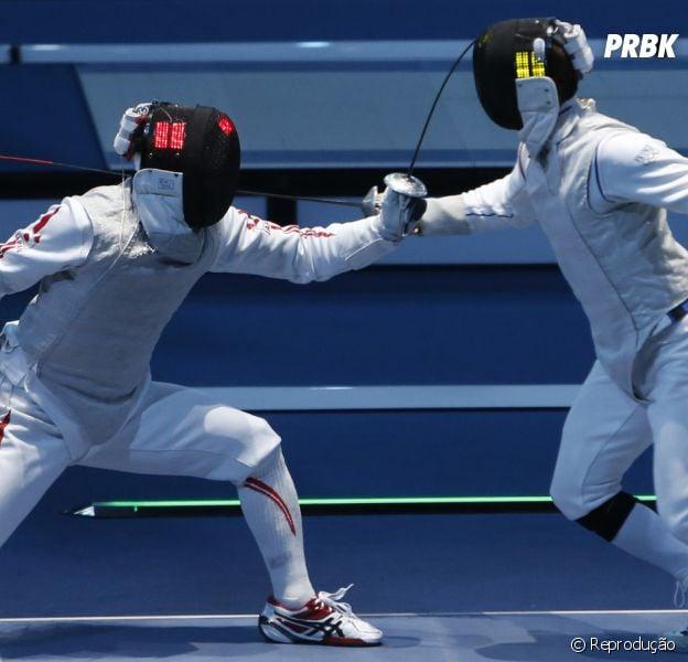Esgrima está na lista dos esportes mais diferentes das Olimpíadas