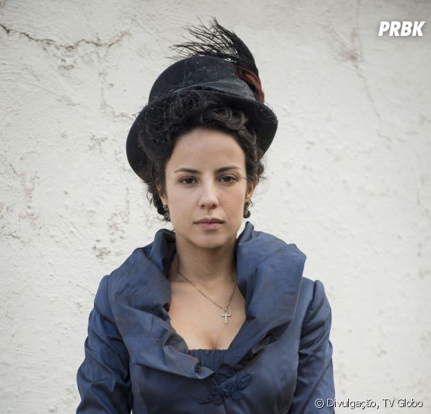 "No final de ""Liberdade, Liberdade"", Joaquina (Andreia Horta) pode morrer enforcada"