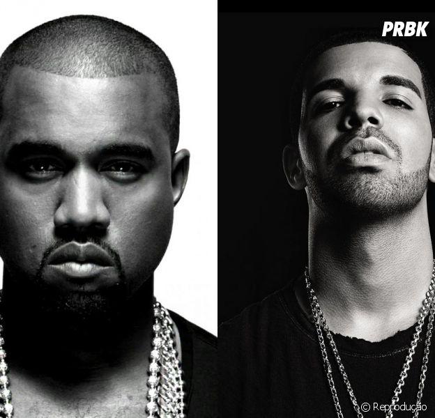 Kanye West e Drake podem estar preparando um álbum juntos