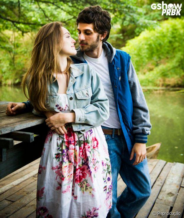 """Isabelle Drummond e Chay Suede vão viver casal apaixonado na novela """"A Lei do Amor"""""""