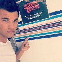 """Taylor Lautner, de """"Scream Queens"""", não quer tirar a camisa na série: """"Preciso de uma pausa"""""""