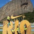 Equipe feminina do Brasil da Ginástica Artística dão show de união