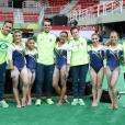 Amigas dentro e fora das Olimpíadas Rio 2016, as meninas daGinástica Artística brasileira estão sempre juntas