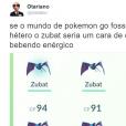 """Memes """"Pokémon GO"""": quem aí também não aguenta mais encontrar o Zubat?"""