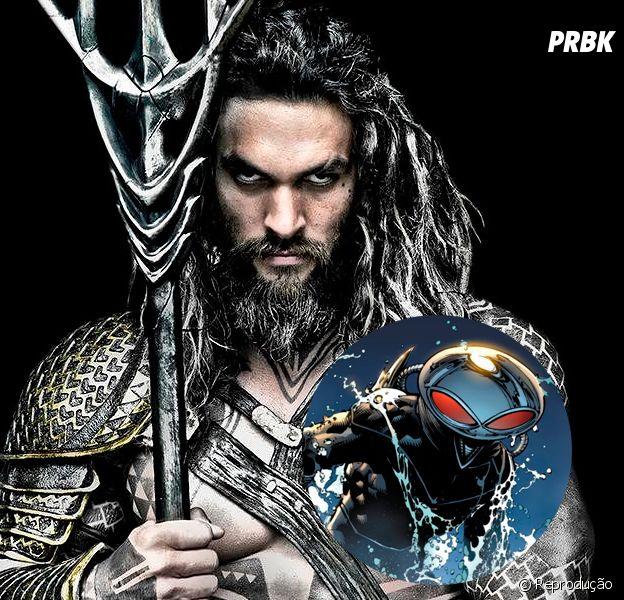 """De """"Aquaman"""": vilão Arraia Negra será o grande inimigo do herói!"""