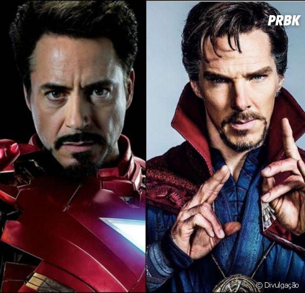 """O Homem de Ferro pode aparacer no filme """"Doutor Estranho"""""""