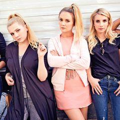 """Em """"Scream Queens"""": na 2ª temporada, com Emma Roberts, confira primeiras fotos dos bastidores!"""