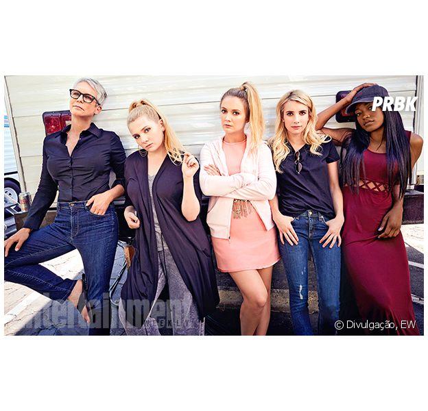 "De ""Scream Queens"": confira fotos dos bastidores da 2ª temporada"